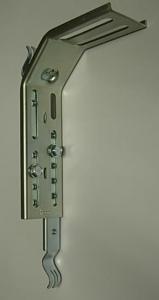 heco 264 mont Blendenbügelset OPTIMAL Vibrationsschutz bis 285mm Bl.Höhe,montagefertig vormont.