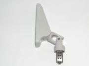 heco 215 Kreuzgelenk 70º mit normaler Grundplatte und Adapter für 4kt 8, Farbe hellgrau
