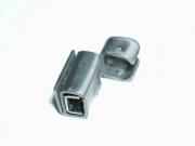 heco 744 S-A2 Kugelkupplung in Stahl A2 für schmale Steggurten (bis 4 mm), Preis per 1000