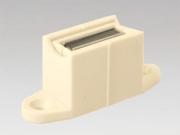 heco 205 mit Mag / weiss Kurbelhalter mit Magnet Farbe weiss