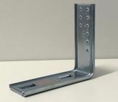 heco 406 Montagewinkel 150x135mm zu Optimal-Syst. gepresst, vz 16my, M6-Gewinde