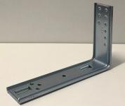 heco 407-135 Montagewinkel 220x135mm zu Optimal-Syst. gepresst, vz 16my, M6-Gewinde