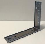 heco 407-180 Montagewinkel 220x180mm zu Optimal-Syst. gepresst, vz 16my, M6-Gewinde